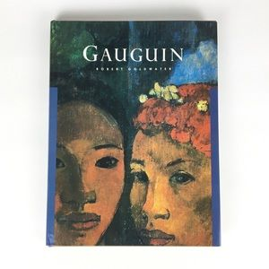 "Gauguin by Robert Goldwater Hardcover 9.25""x12"""